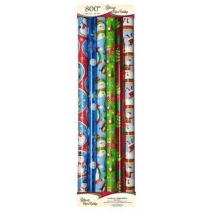 Paquet De 4 Rouleaux De Papier Demballage En Papier Et 2 Rouleaux D